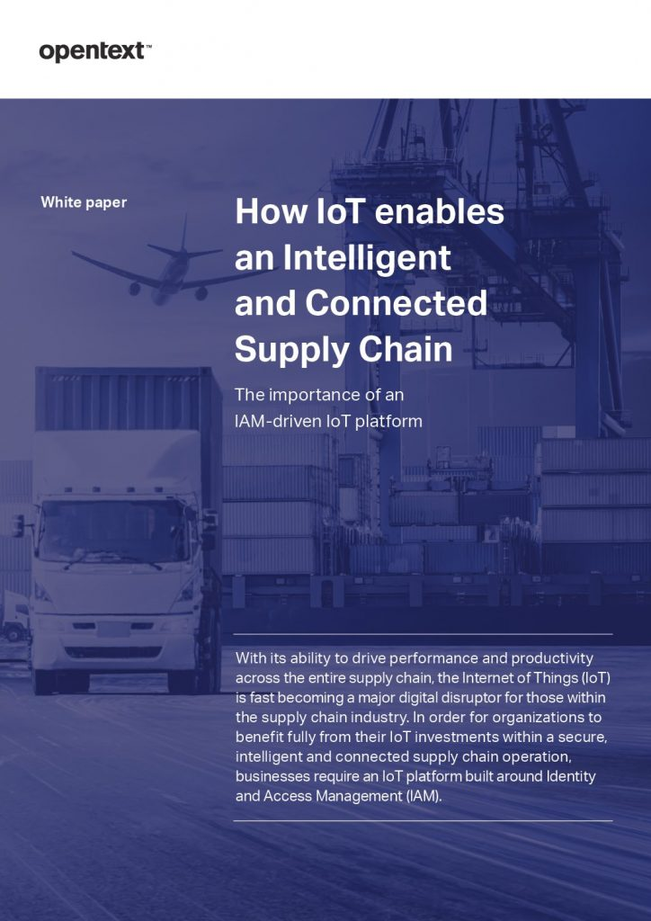 Realizing the potential of IoT in the Supply Chain