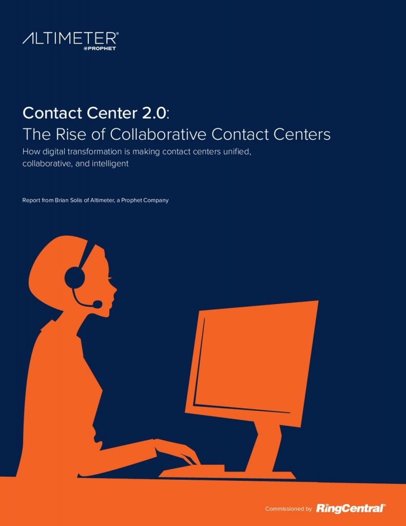 Contact Center 2.0: The Rise of Collaborative Contact Centers