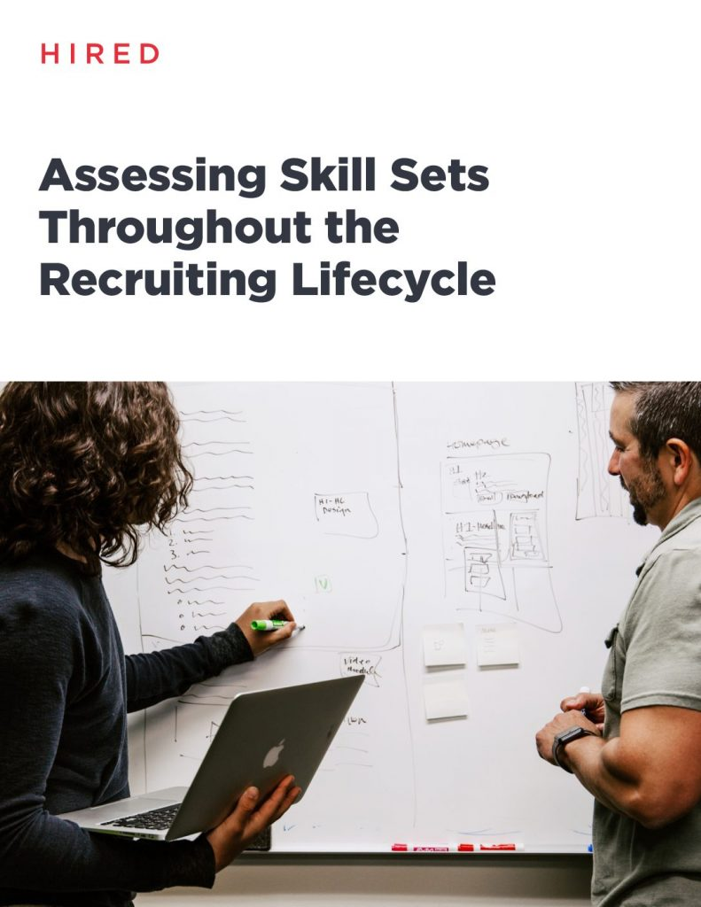 Assessing Skill Sets Throughout the Recruiting Lifecycle
