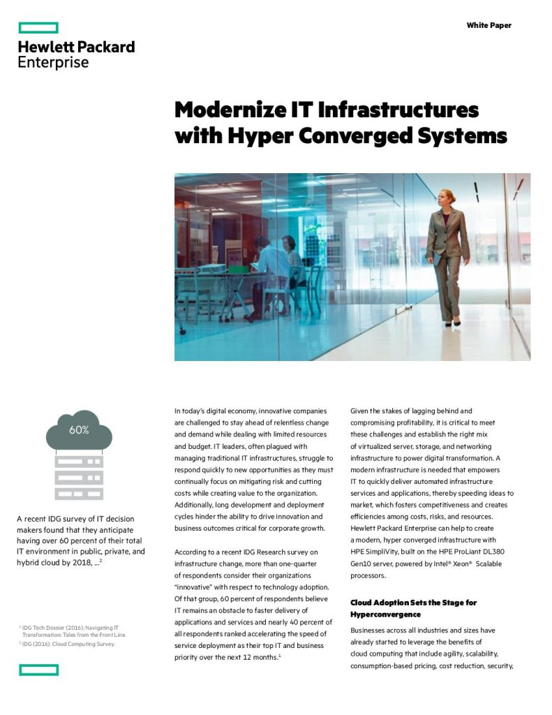 How Hyperconverged Infrastructure Simplifies IT Operations