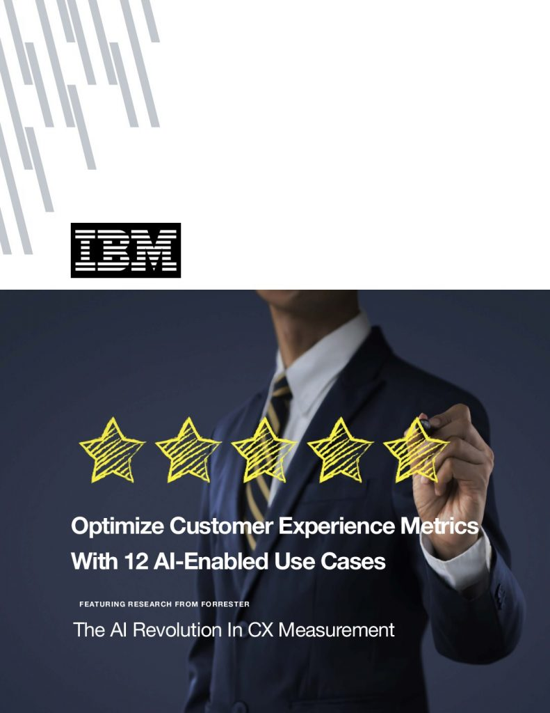Optimize Customer Experience Metrics With 12 AI-Enabled Use Cases