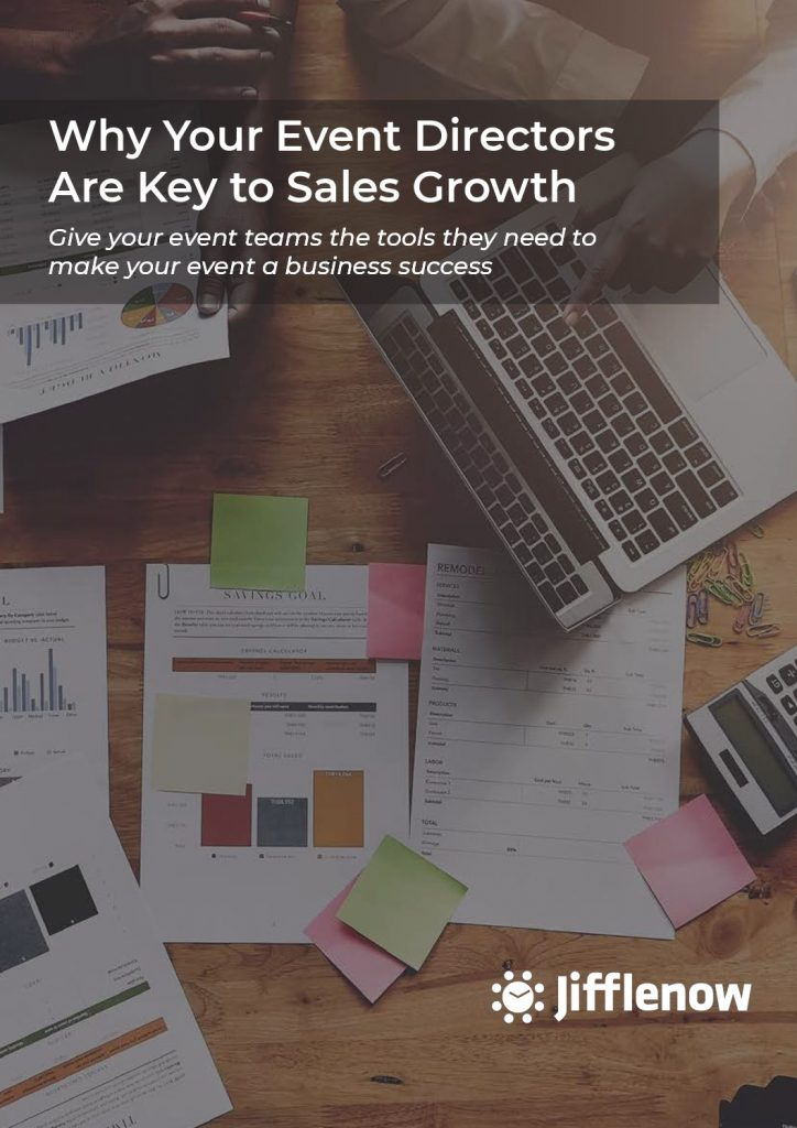 Why Your Event Directors Are Key to Sales Growth