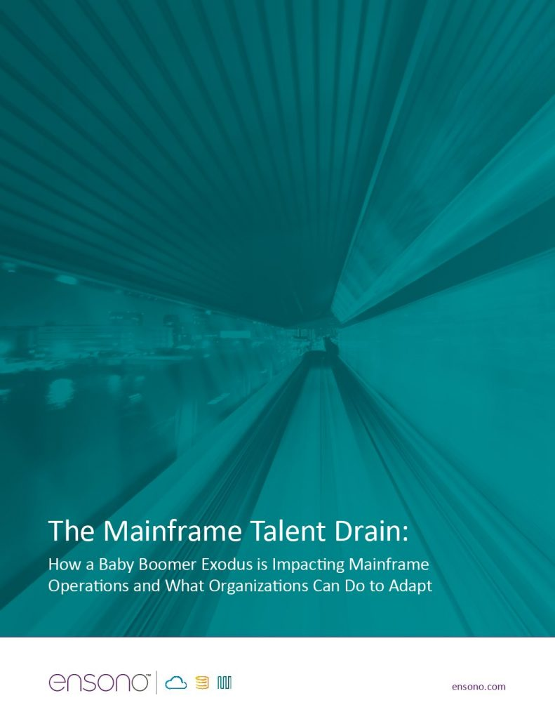 The Mainframe Talent Drain