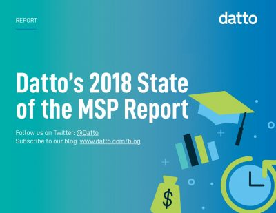 Datto's 2018 US State of the MSP Report