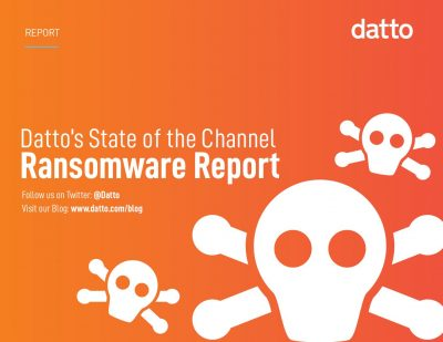 Datto's State of the Channel Ransomware Report