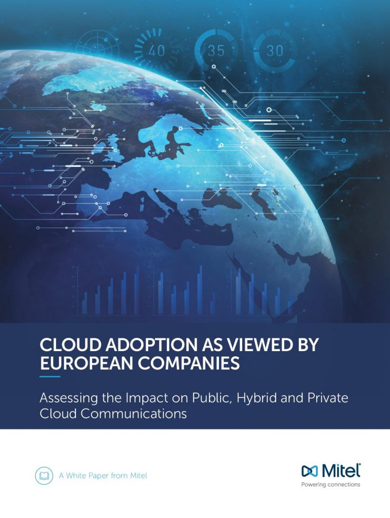 CLOUD ADOPTION AS VIEWED BY EUROPEAN COMPANIES