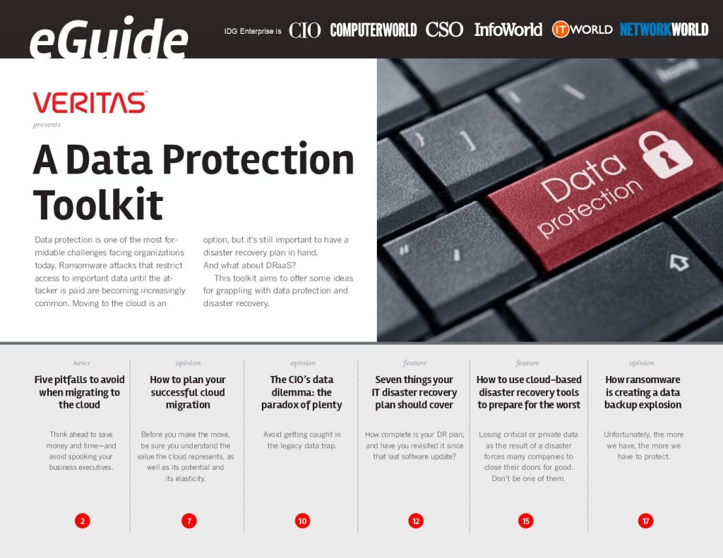 A Data Protection Toolkit