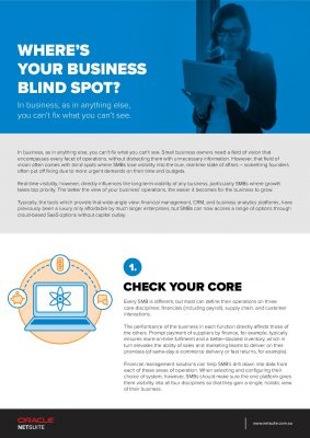 Where's Your Business Blind Spot?