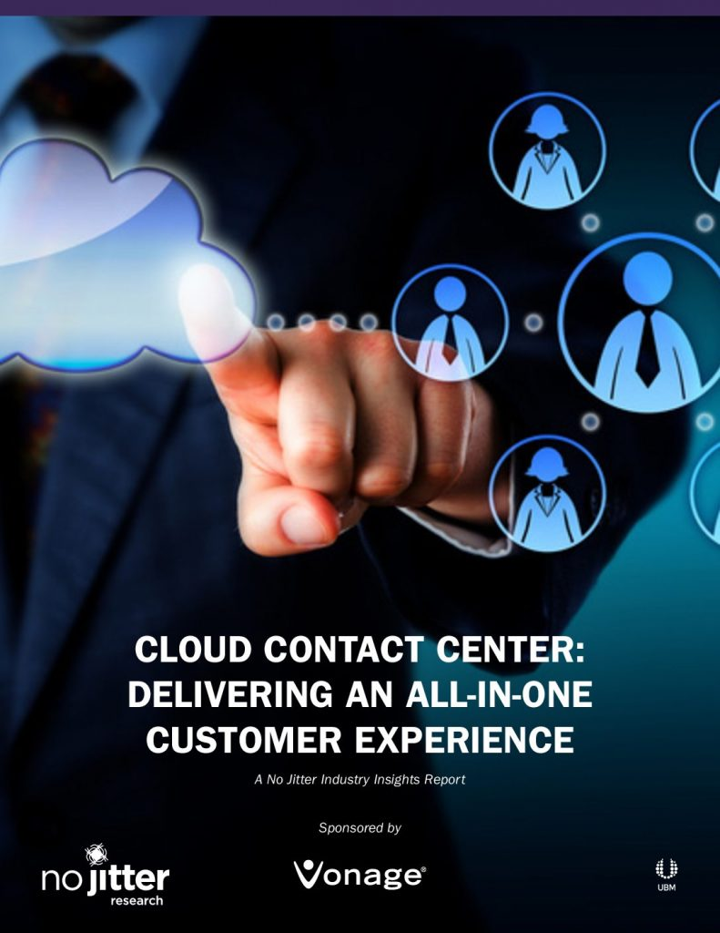 Cloud Contact Center: Delivering An All-In-One Customer Experience