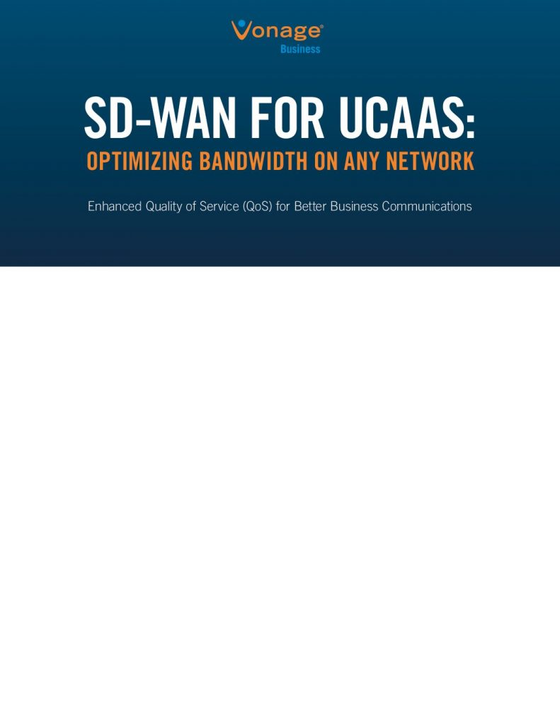 SD-WAN FOR UCAAS: OPTIMIZING BANDWIDTH ON ANY NETWORK