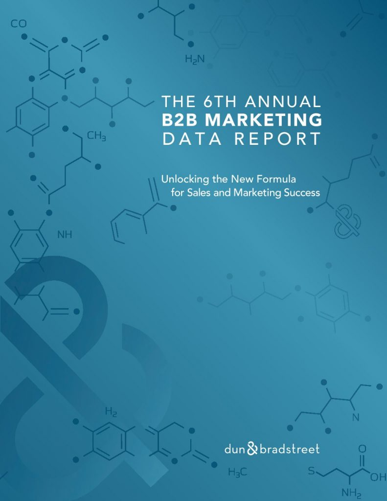 The 6th Annual B2B Marketing Data Report: Is Data Driving or Derailing Your Sales  and  Marketing Strategy?