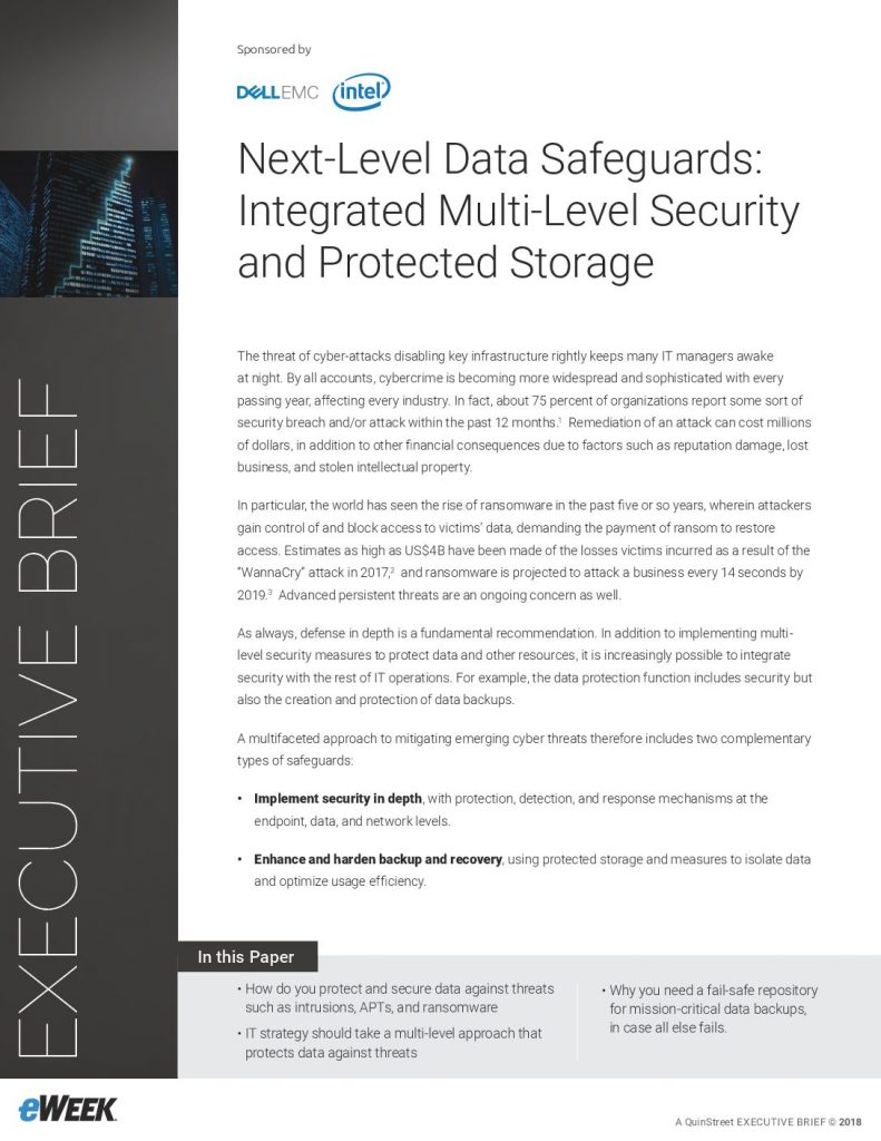 Next-Level Data Safeguards: Integrated Multi-Level Security and Protected Storage
