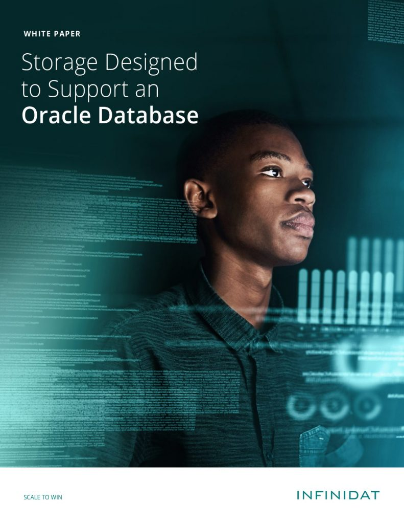 Storage Designed to Support an Oracle Database