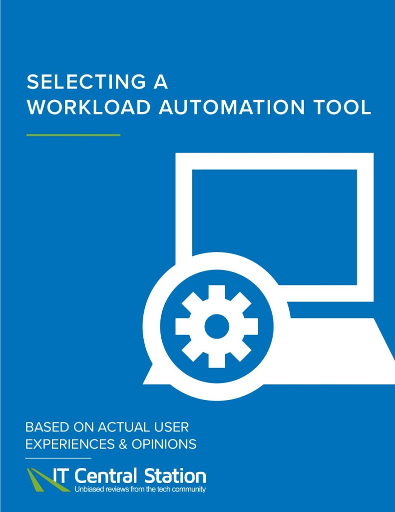 Selecting a Workload Automation Tool