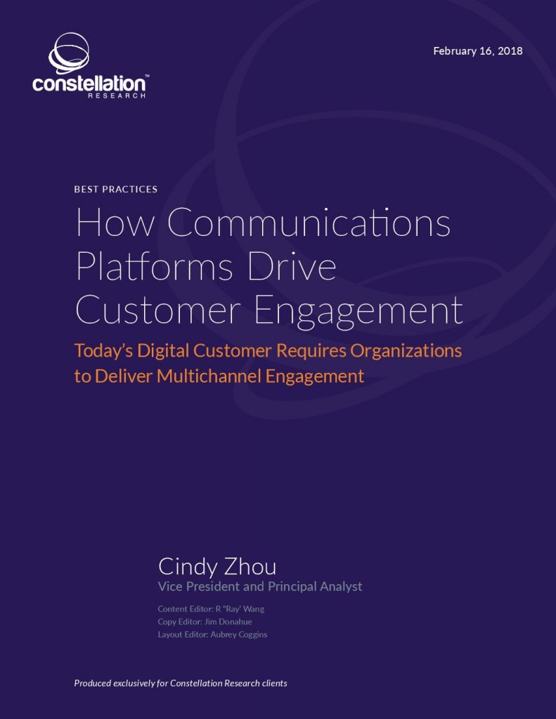 How Communications Platforms Drive Customer Engagement