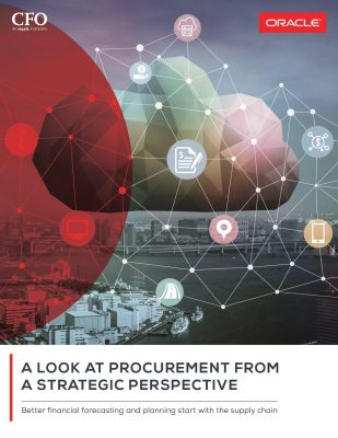 A Look at Procurement from a Strategic Perspective