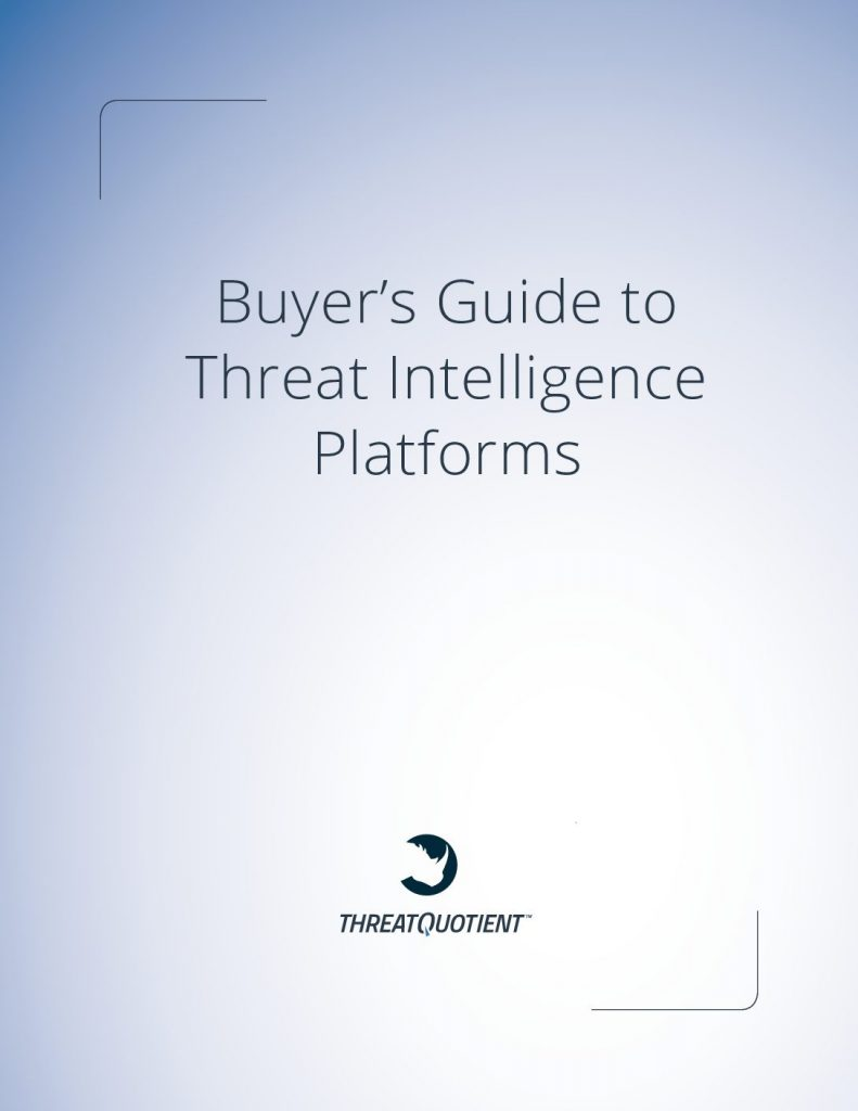 Buyer's Guide to Threat Intelligence Platforms