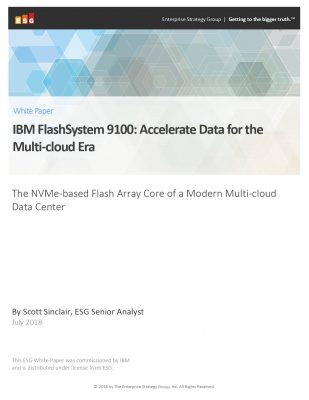 IBM FlashSystem 9100: Accelerate Data for the Multi-cloud Era