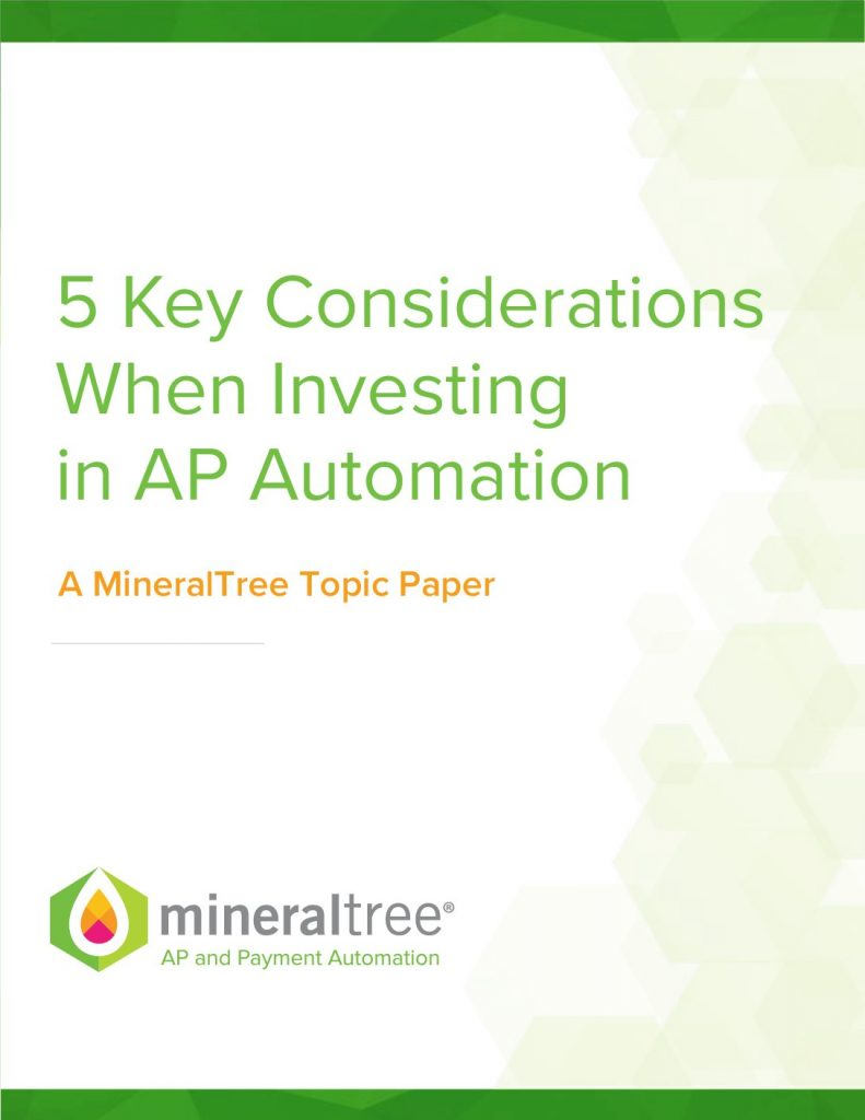 Download 5 Key Considerations When Investing in AP