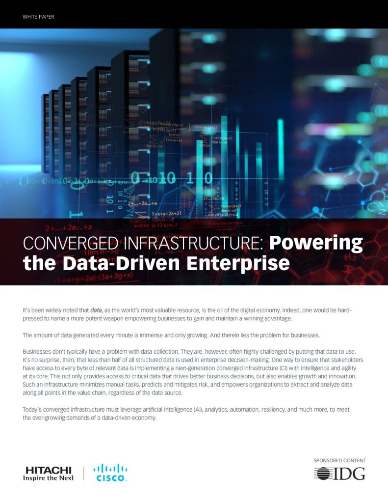 Converged Infrastructure: Powering the Data-Driven Enterprise