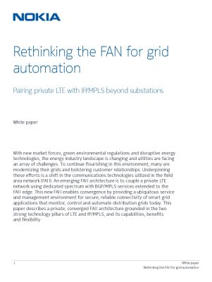 Rethinking the FAN for grid automation