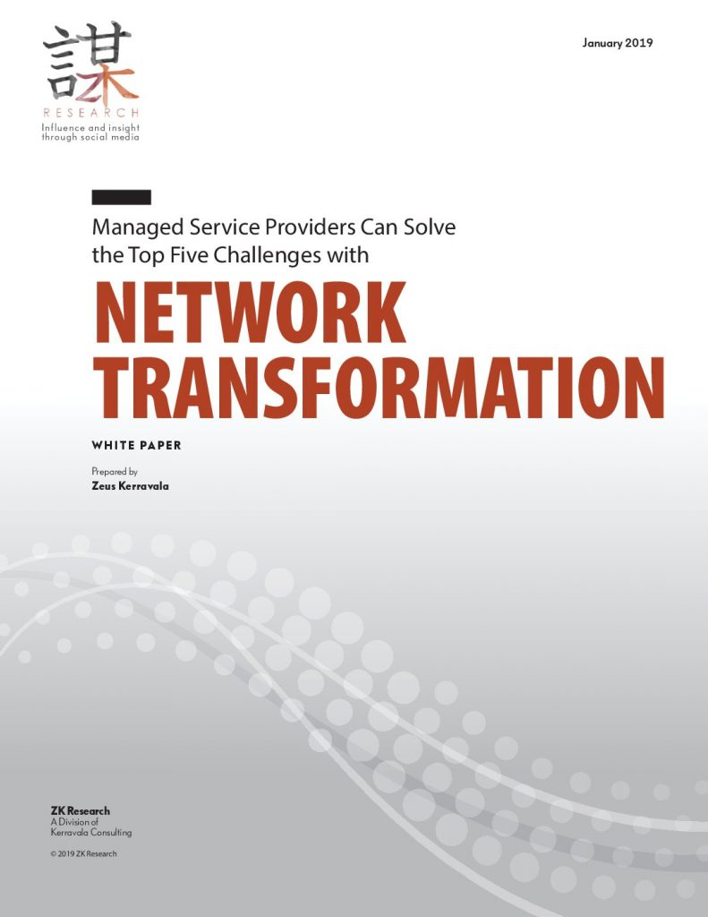 Managed Service Providers Can Solve the Top Five Challenges with Network Transformation