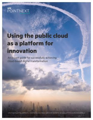 Using the Public Cloud as a Platform for Innovation