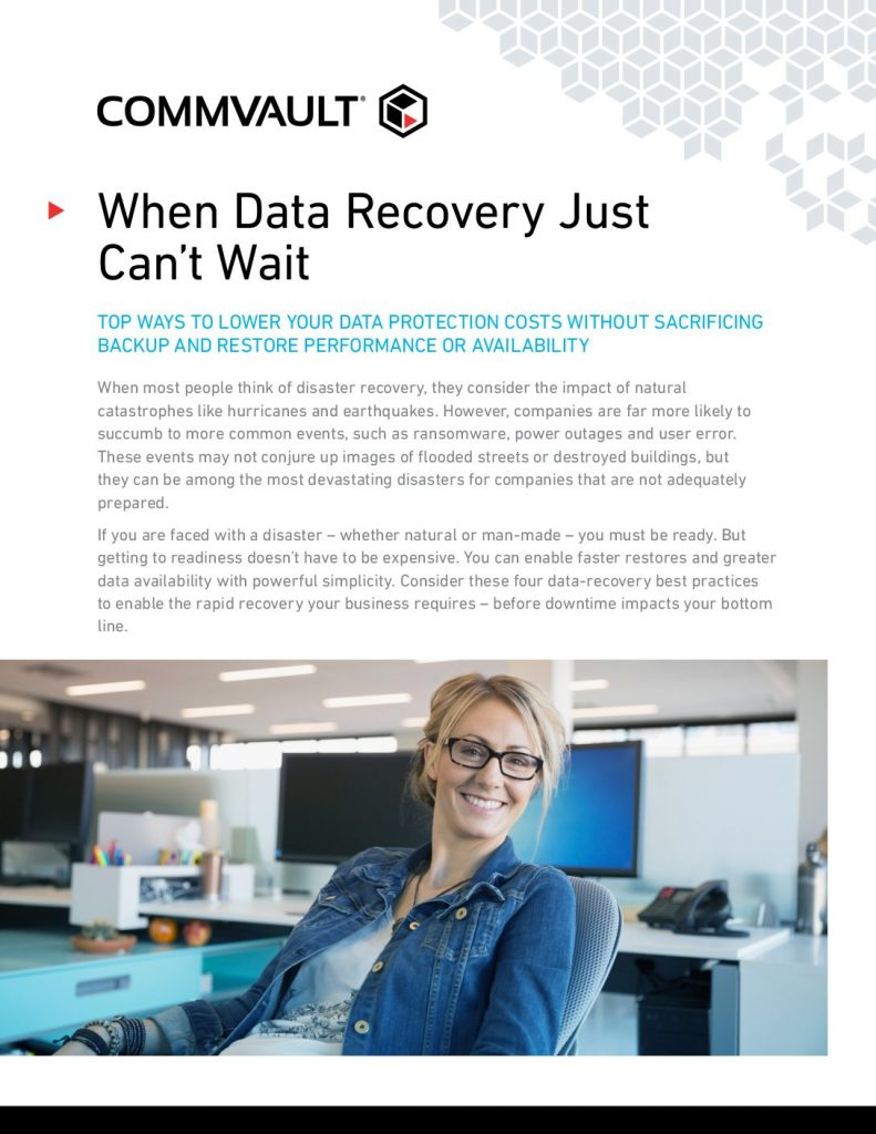 When Data Recovery Just Can't Wait