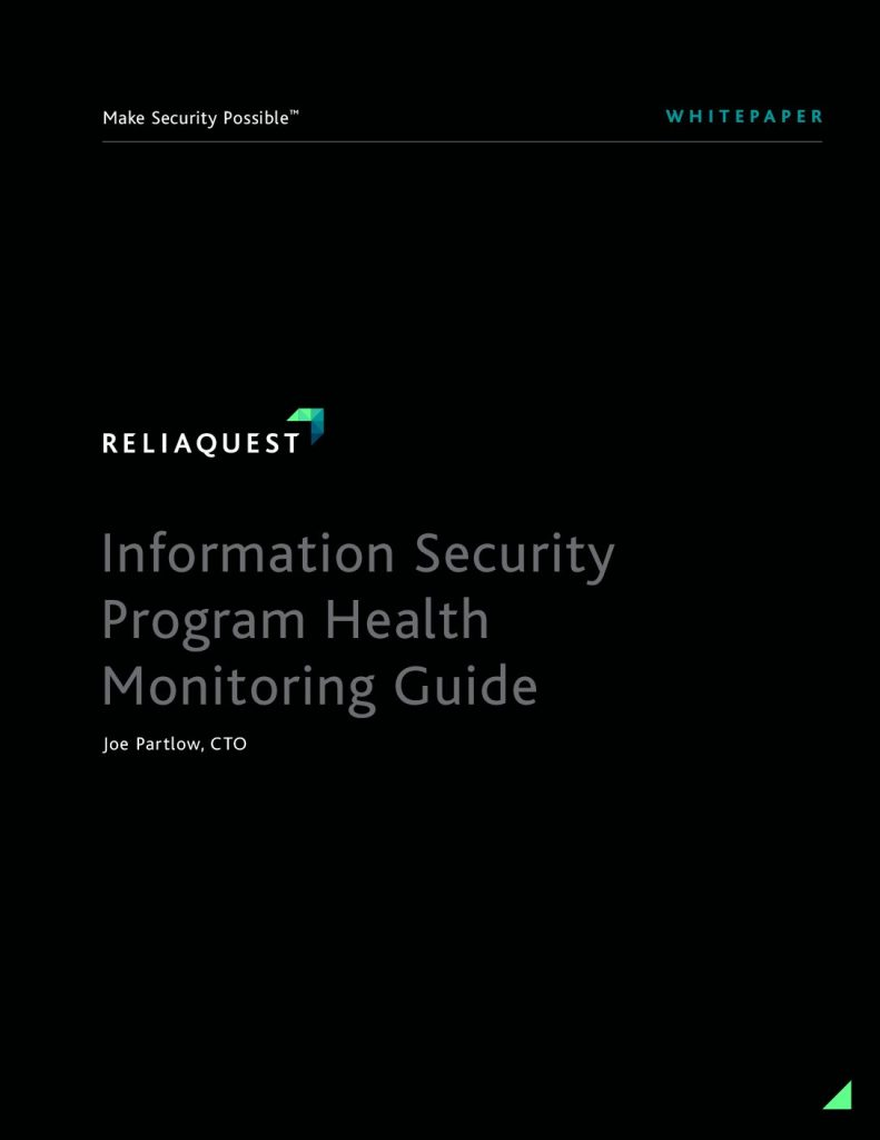 Information Security Program Health Monitoring Guide