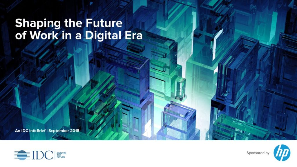 Shaping the Future of Work in a Digital Era