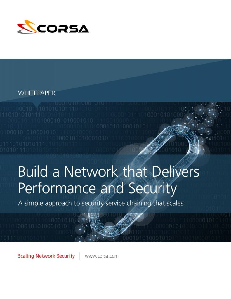 Build a Network that Delivers Performance and Security