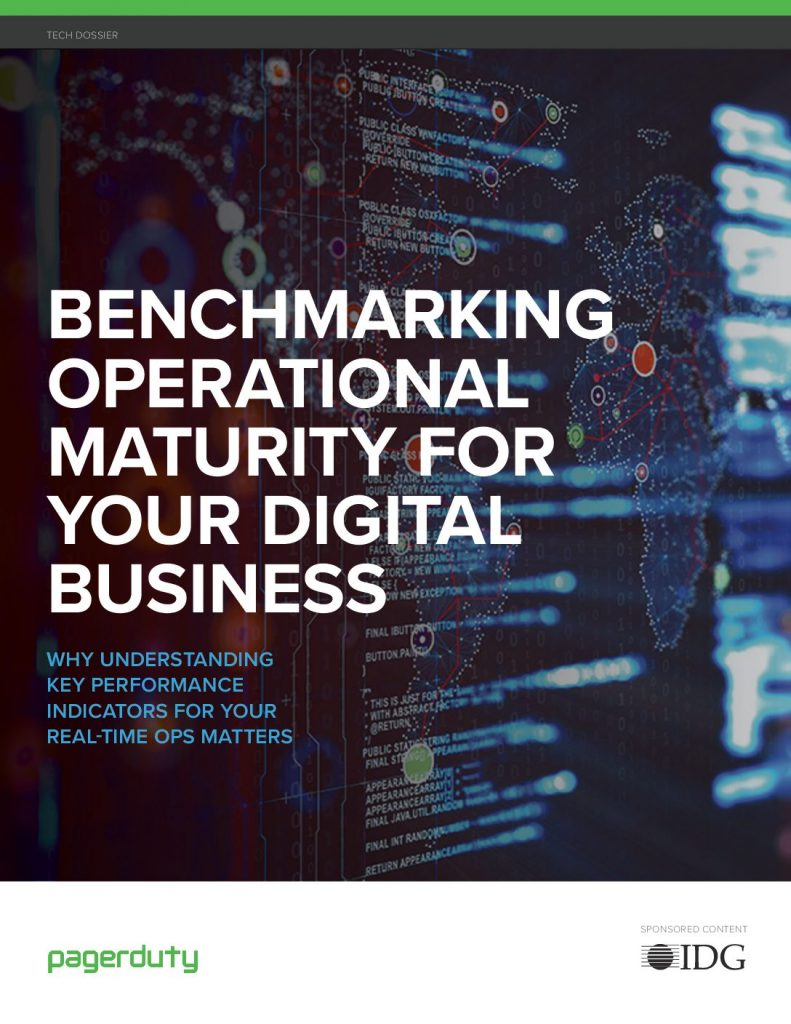 Report: Benchmarking Operational Maturity for Your Digital Business (IDG)