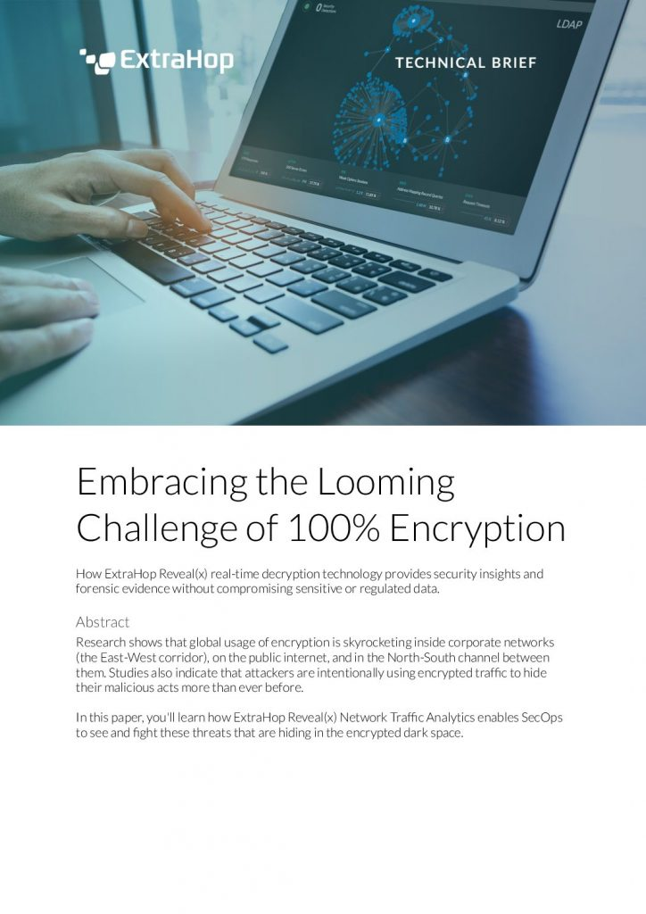 Embracing encryption: Fight the darkspace with Reveal(x)