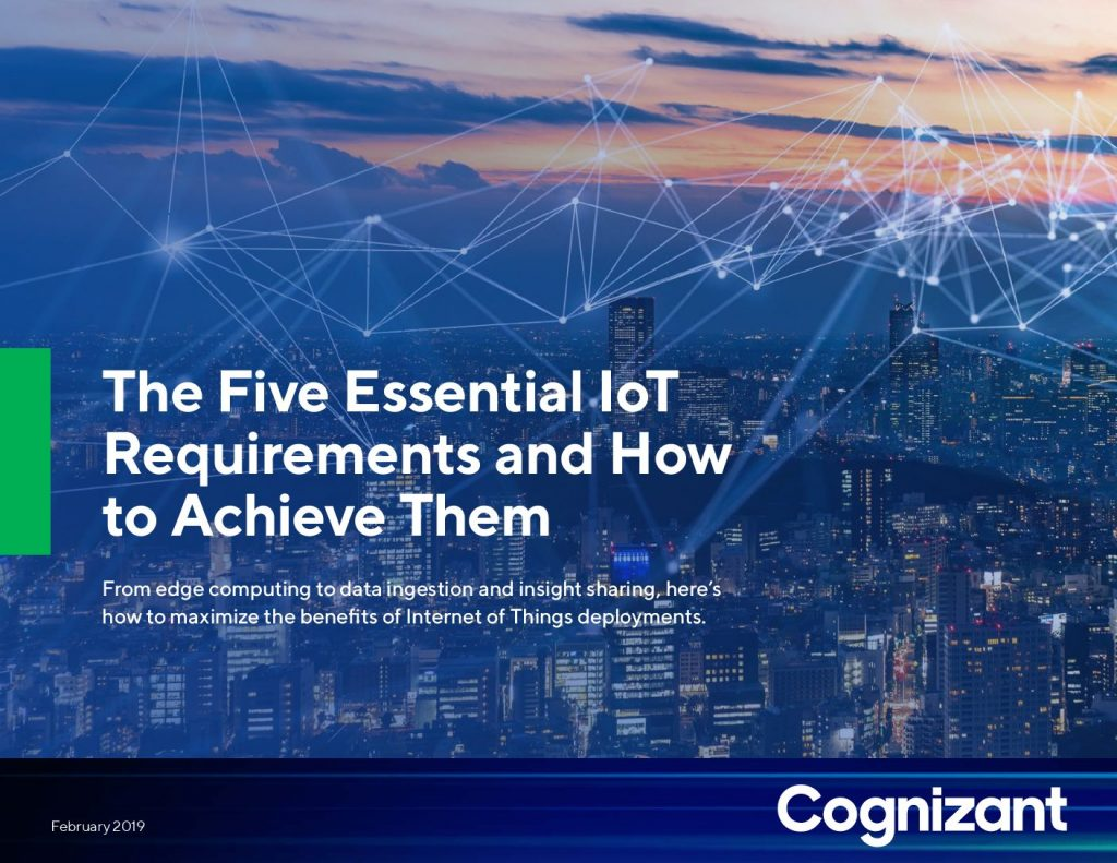 The Five Essential IoT Requirements and How to Achieve Them