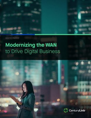 Modernizing the WAN( Wide Area Network) to Drive Digital Business