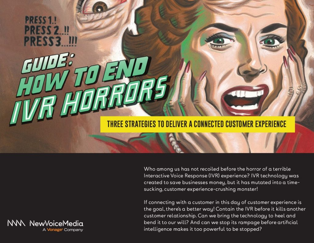 How to End IVR Horrors – 3 Strategies to Deliver A Connected Customer Experience