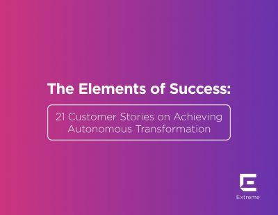 21 Customer Stories on Achieving Autonomous Transformation