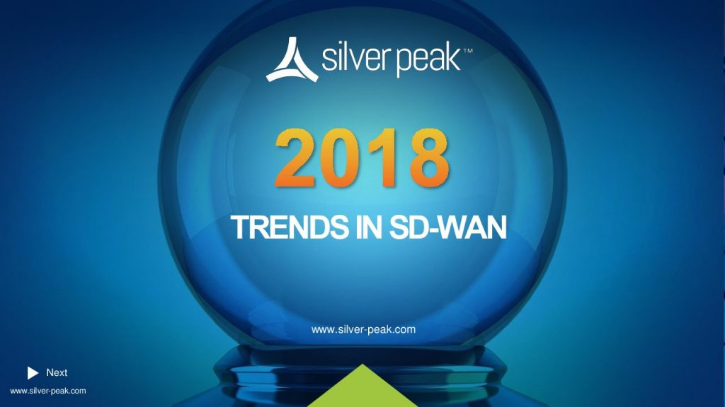 2018 Trends in SD-WAN