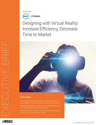 Designing with Virtual Reality: Increase Efficiency, Decrease Time to Market