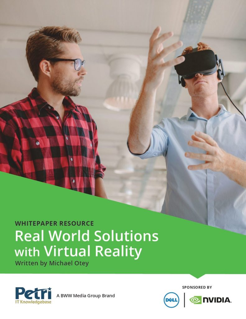 Real World Solutions with Virtual Reality