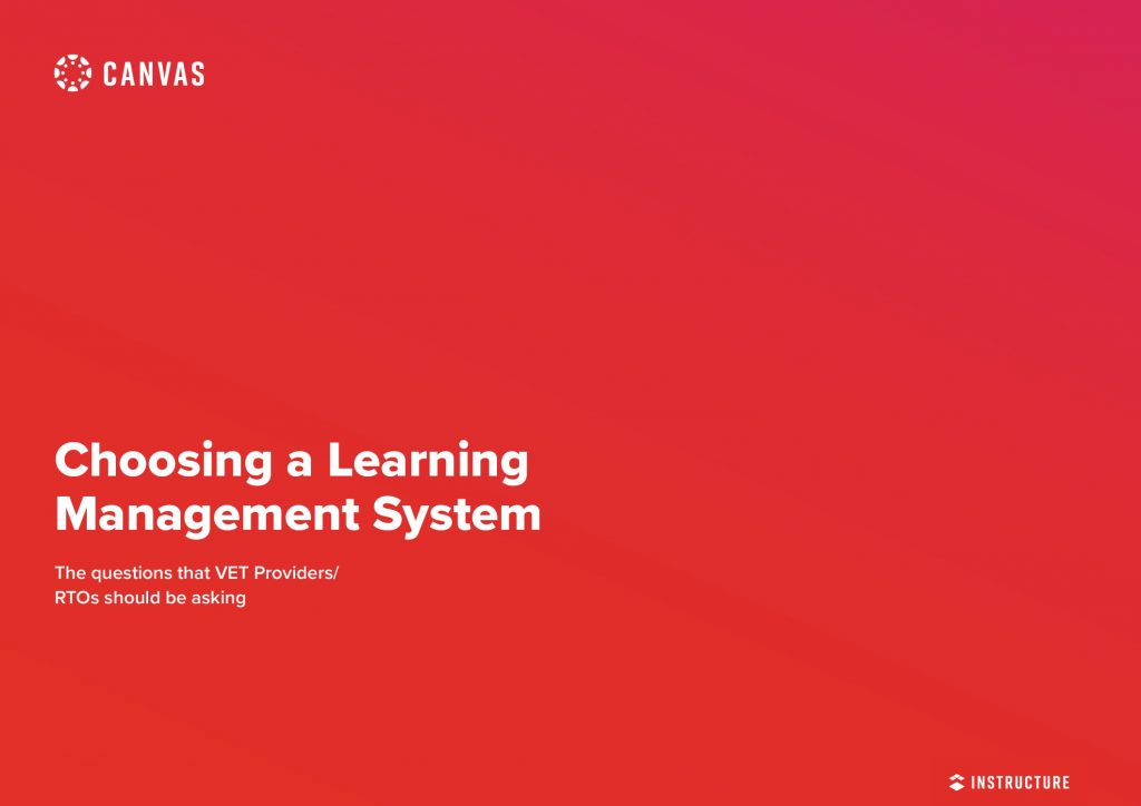 Choosing a Learning Management System The Questions That VET Providers/RTOs Should be Asking