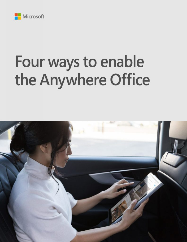 Four Ways to Enable the Anywhere Office