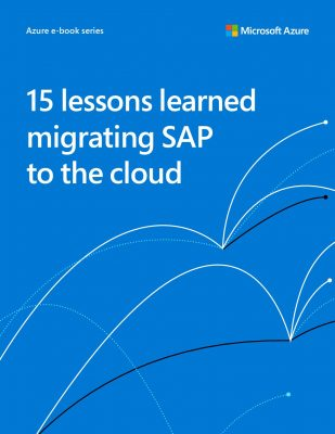 15 Lessons Learned Moving SAP to the Cloud