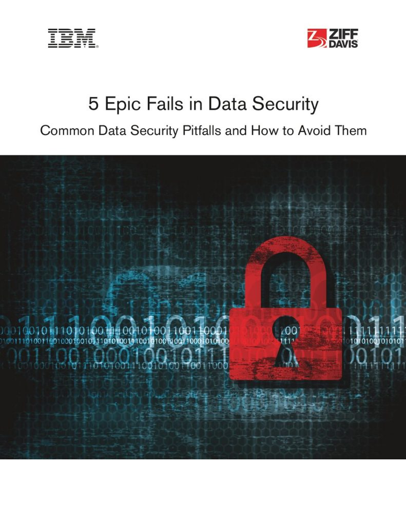 5 Epic Fails in Data Security