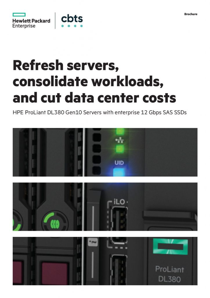 Refresh servers, consolidate workloads, and cut data center costs