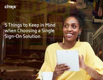 5 Things to Keep in Mind When Choosing an SSO Solution