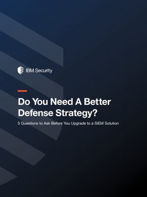 E-Book: 5 Questions to Ask Before You Upgrade to a Modern SIEM Solution