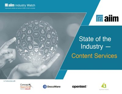 State of the Industry - Content Services