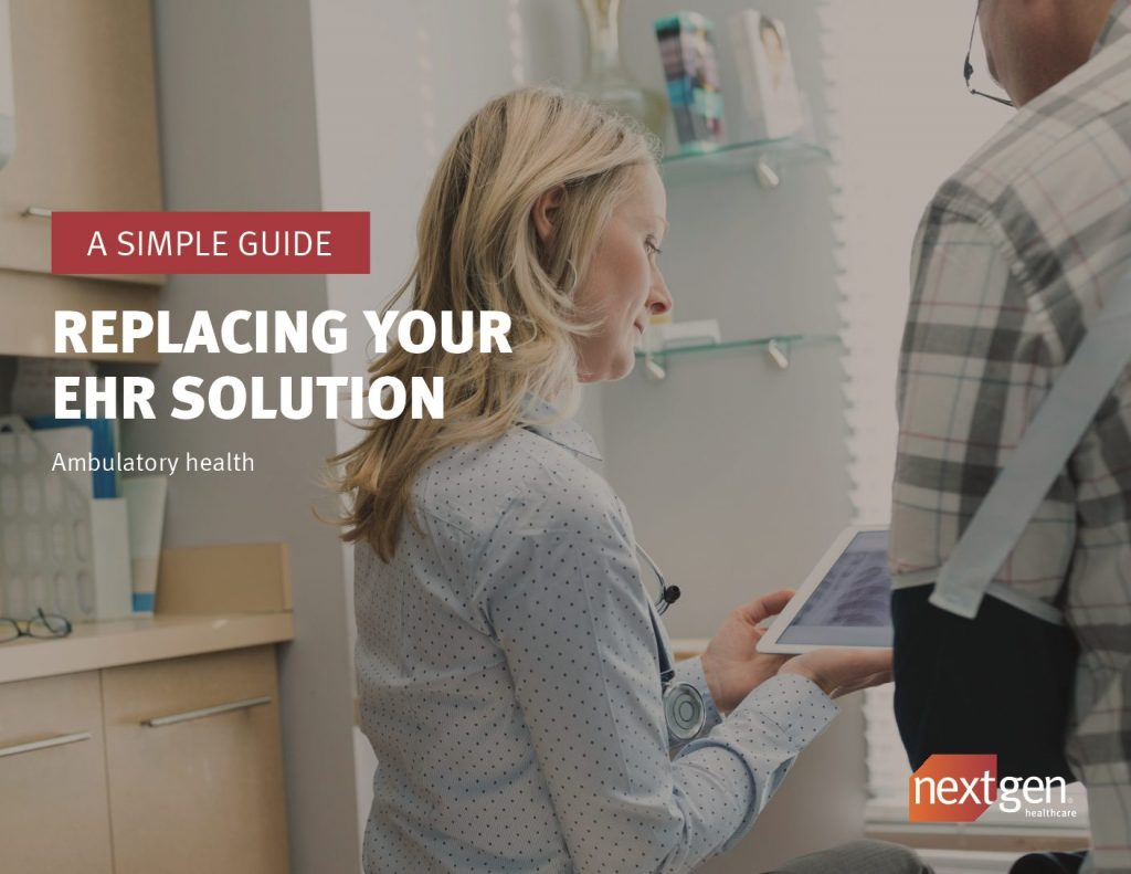 Your EHR solution