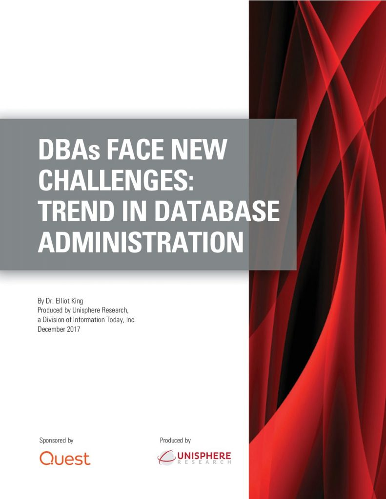 DBAs Face New Challenges: Trend in Database Administration